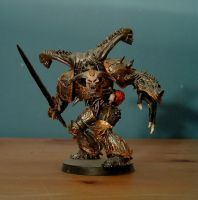 Iron Warriors Daemon Prince by Damatee