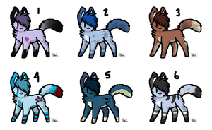 Adoptable batch 52 by RavensAdoptables