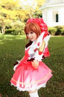 Card Captor Sakura :  Marathon Across The Sky by thebakasaru