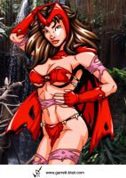 Savage Land Scarlet Witch by Mythical-Mommy