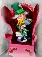 Mad Hatter Art Doll by SutherlandArt