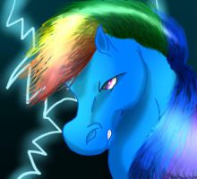 Rainbow Lightening by jbella55
