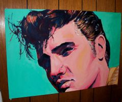 Elvis Presley by Flashback33
