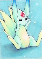 ACEO-Carbuncle by Faerytale-Wings