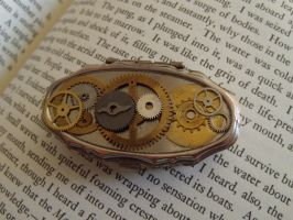 Steampunk pill box by Hiddendemon-666