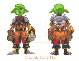 Gimmix the Goblin by badgerlordstudios