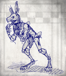 Springtrap Full Body Design 2 by BlasticHeart