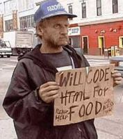 will code html for food by silverlogic