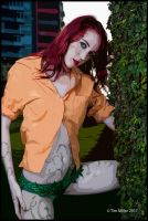 Poison Ivy Cartoonised by spyjournal