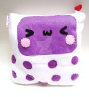 White Celly Plush by CosmiCosmos