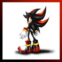 Shadow the Hedgehog - Finished by MiakodaTheBright