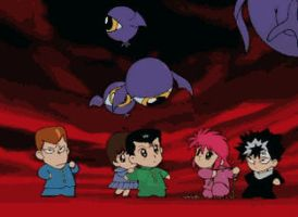 Yu Yu Hakusho - Animated gif by Gazgabriel