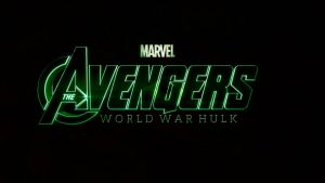 Marvel's The Avengers: World War Hulk Logo by TheDarkRinnegan