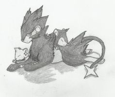 Shinx, Luxio and Luxray
