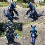 Kaiju Kustoms: Cyber Gomora by Draconyx13