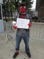 Hipster Spiderman Wants To Interview You by toadking07