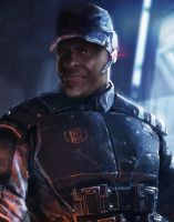 Mass Effect Fan Cast #8: Keith David as Anderson by ImWithStoopid13