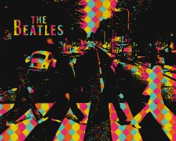 The Beatles Wallpaper by Feenster64