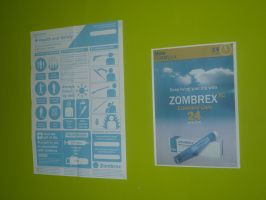 Zombrex Posters by RedDevil00