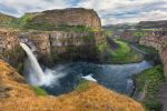 Palouse Waterfall Stock by leeorr-stock