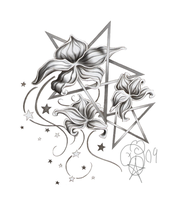 Wicca Flowers by Aphilien