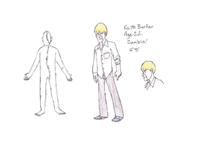 Keith Barker ref sheet by Alavas65