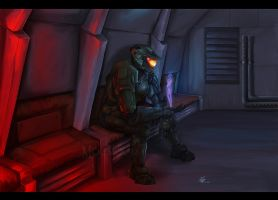 Stay strong, master chief by Moumou38