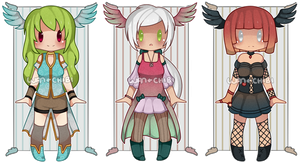 Collab Auction Adopts [CLOSED] by WanNyan