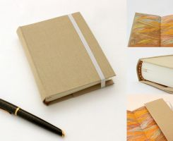 Beige Journal Moleskine by GatzBcn
