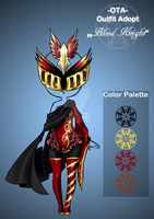 (Closed) Offer to adopt - Blood Knight by CherrysDesigns