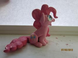 Pinkie Pie Sculpture by Shadestepwarrior