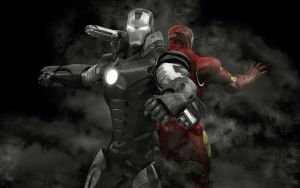 War Machine-Iron Man-close by stefanmarius