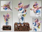 Cadence and Shining Armor by renegadecow