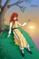 KIRIBAN: Kurama on the Hill by Candid-Ishida