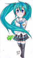 Another Miku by inukagome123