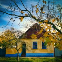 Crayon house by marjarah