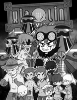 Xiaolin Showdown Comic Chapter 1 cover by MistahLevi