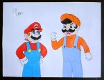 Mario and the Jumpman by shnoogums5060