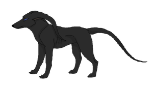 Black Whiphound by CherrySapphire