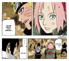 Naruto Chapter 631 - Sakura.. by mysimpleme14