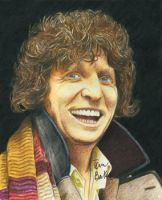 The 4th Doctor by MikesStarArt