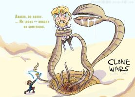 Clone Wars Sarlacc Pit -DOODLE by ElTheGeneral