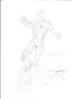 Iron Man 3 Armadura Mark 42 by Lord Tower (JMo by JemesMoriarty