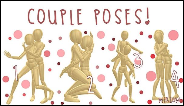 .::MMD::. -Couple Poses -.::DL::. by M1keow