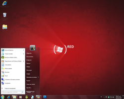 ProductRED for Windows 7 by slayergrunt117