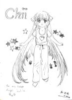 Chobits - Chii? by MaskedJudas