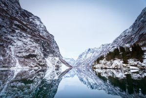 Winterfjord by jonpacker