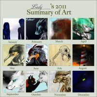 Summary of 2011 by LadyBD