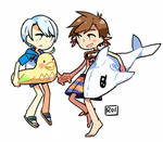 Sormik ver. Beach DLC by Sandy-kun