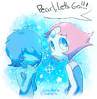 Pearl, Let's Go!!! by GenyStar